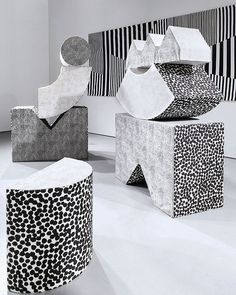 Excited about these amazing sculptures via jenniferabessira-designer, unique