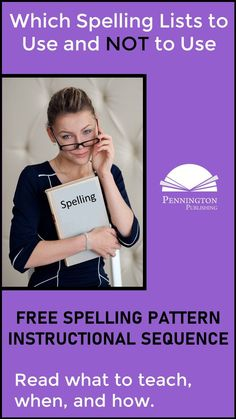 Get the FREE spelling pattern instructional sequence for grades and Learn which word lists not to include (vocabulary, themes, and more) and which spelling patterns are appropriate for which grade levels. Response To Intervention, Reading Assessment, Reading Intervention, Study Skills, Reading Skills, Spelling Words List, Dictionary Skills, Academic Vocabulary, Spelling Patterns