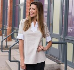 For a gorgeous garment that's perfectly suited for any affair, get the Snapdragon Studios Market Day Pattern Kit Flax! You'll receive a pattern and Robert Kaufman linen to sew this chic, breezy top...