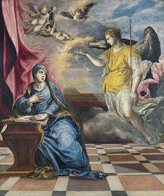 El Greco  La Anunciaciónc. 1576