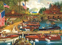 Buffalo Games Charles Wysocki: Lost in the Woodies - 1000 Piece Jigsaw Puzzle by Buffalo Games Buffalo Games http://smile.amazon.com/dp/B00KMYDUII/ref=cm_sw_r_pi_dp_Afe2wb1STNBKT