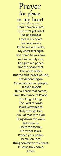 New quotes god prayer heart ideas Prayer Scriptures, Bible Prayers, Catholic Prayers, Prayer Quotes, Faith Quotes, Prayer For Peace, Faith Prayer, God Prayer, Verses On Peace