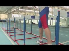 How To Train For Hurdles. Going to need this. Track Workouts For Sprinters, Running Workouts, Running Training Plan, Marathon Training, Heptathlon, Indoor Track, Athletic Training, Running Inspiration, Hurdles