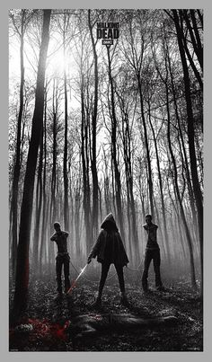 well done.     The Walking Dead by JC Richard