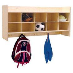 Wood Designs Contender Wall Locker & Storage - C51409F