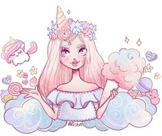 Character Design Illustration~ By Alisha