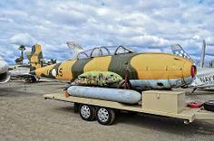 N5486Y Hispano Aviacion HA-200 SAETA C/N E14A-5 Planes of Fame Air Museum
