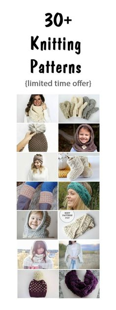 These knitting patterns have been hand-picked by top Etsy designers and knitting bloggers, and each pattern is specifically designed to be completed within a weekend.