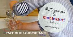 Come partecipare alla sfida - dal primo al 10 Marzo, tema: PRATICHE QUOTIDIANE. Montessori activity attività montessoriane #30daysofmontessori #30giornidimontessori
