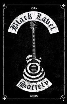 Black Label Society poster les paul by MitchBaker13 on DeviantArt Rock Band Posters, Rock Band Logos, Rock Bands, Metal Band Logos, Pride And Glory, Rock Y Metal, Heavy Metal Art, Black Metal, Black Label Society
