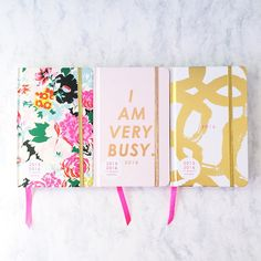 I stumbled across ban.do, a website full of adorable school supplies and accessories and couldn't leave without buying this agenda. The 17 Month Classic Agenda comes in three different colors and two sizes. Agenda Planner, Cute Planner, Planner Diy, Bujo, Very Busy, Best Planners, Write It Down, Choose Me, Getting Organized