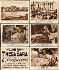 "Cleopatra (Fox, 1917). Title Lobby Card & Lobby Cards (5) (11"" X 14""). ... (Total: 6 Items)"