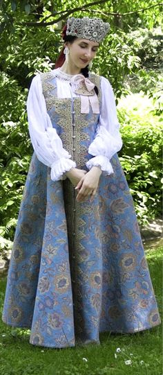 Late 19th Century Northern Russian Costume