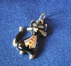 Bettelarmband Anhänger Katze Kater Emaile 800er Silber Charms Emaille | eBay