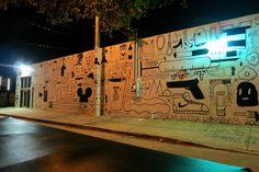 Wynwood Walls, Miami USA. December 2013