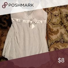 Top cami Simple little ribbon bow detail Charlotte Russe Tops Tank Tops