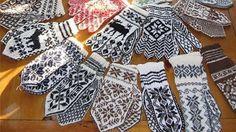 Самые необычные схемы для вязания варежек спицами