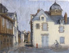 Felicity House . Pastel . Early Morning Le Croisic