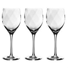 Chateau redwine glass - clear 1-pack - Kosta Boda