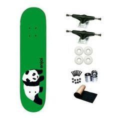 Enjoi Green Original Panda Resin-7 Ply 8.25 Skateboard Deck Complete by Enjoi. $68.99. Brand New, Top Quality Enjoi Skateboard Complete.