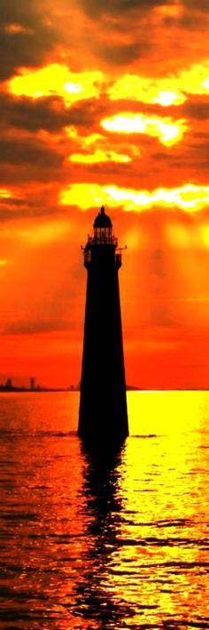 Minot's Ledge Lighthouse Print by Joseph Gillette
