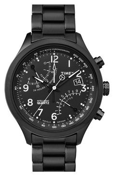 Timex®+'Intelligent+Quartz'+Fly-Back+Chronograph+Watch,+43mm+available+at+#Nordstrom