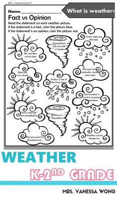Download free printables at preview. Teaching kindergarten, first grade and second grade classroom with fun science activities!! This weather  unit is what you need. #weatheractivities #kindergartenactivities #kindergartencenters #scienceprintables #kindergartenclassroom #scienceactivities #firstgradecentres Halloween Crafts For Toddlers, Halloween Activities, Preschool Art Projects, Preschool Crafts, Kindergarten Activities, Science Activities, Letter E Activities, Five Senses Preschool, Nursery Rhymes Preschool