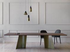 Mesa retangular MAGGESE by Miniforms design Paolo Cappello