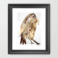 Conscious Sight Framed Art Print by crismanart