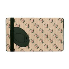 Chic Pink Roses iPad Folio Cases