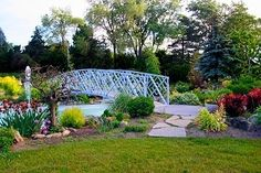 Rockway Gardens Local Attractions, Garden Bridge, Summer 2016, Toronto, Canada Ontario, Gardens, Outdoor Structures, Pictures, Memories