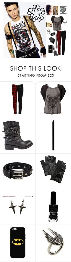 """Andy biersack"" by andy-biersack-rocks ❤ liked on Polyvore featuring Ash, Giorgio Armani, Designers Remix, Carolina Amato, Azature, Coveroo and Lulu Frost"