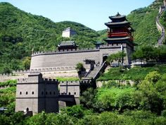 A outlook of Juyong Pass. Juyong Pass is the head of the three inner passes of Ming Great Wall