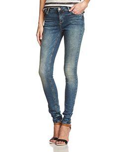 damen skinny jeanshose on pinterest blue denim skinny and jeans. Black Bedroom Furniture Sets. Home Design Ideas