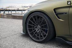 Золотой BMW M4 в исполнении Zito Wheels - Автовести