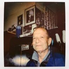 My hair-cutter for over 35 years—Scotty aka ! // From my project // Hair Cutter, Fuji Instax, East Village, Lomography, Street Photography, Einstein, Film Polaroid, Iphone App, Barber