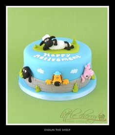 Shaun the Sheep Cake By button-moon on CakeCentral.com