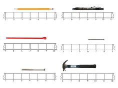 Here's a set of broken ruler measurement cards for students to practicing finding length.