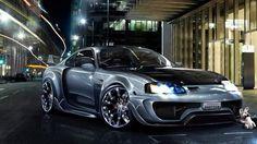 Super Sport Car in the city