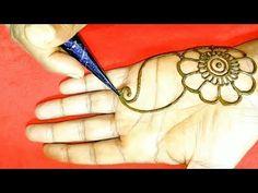 #numbermehndidesign - YouTube Mehndi Designs Front Hand, Arabic Mehndi Designs, Simple Mehndi Designs, Mahendi Design, Mehndi Designs For Beginners, Easy Nail Art, Henna, Tattoos, Youtube