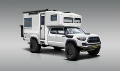 Manufacurers of the BCT   TruckHouse Overland Tacoma, Overland Truck, Expedition Vehicle, Small Truck Camper, Small Trucks, Vw Amarok, Toyota Tacoma Trd Pro, Explorer Yacht, Off Road Camper
