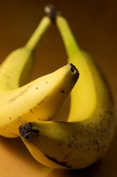 """Bananas are best consumed with a few brown spots - that means they are at the peak for nutrition and are  """"ready to eat"""""""