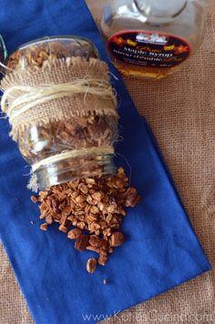 Cinnamon-Maple Granola - Katie's Cucina