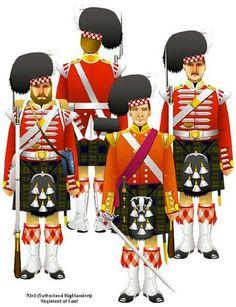 Resultado de imagen para uniformes britanicos guerras napoleonicas
