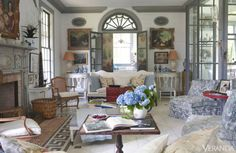 <p>The truth is, function doesn't much matter to Gatewood, who has worked closely with design-world maestro John Rosselli for more than four decades.</p> <p><em><strong>Whitewashed plank floors and wall paneling leaven an eclectic mix of fine antiques. Antique French sofa, armchairs, demilune consoles, 19th-c. creamware lamps, and 1950s slipper chairs, John Rosselli. </strong></em></p>