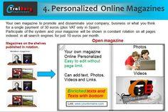 Traiborg - Blog Profile - Earning money with MAGAZINES