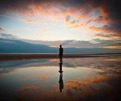 Crosby Beach, England // Beautiful Beaches: A Photo Tour