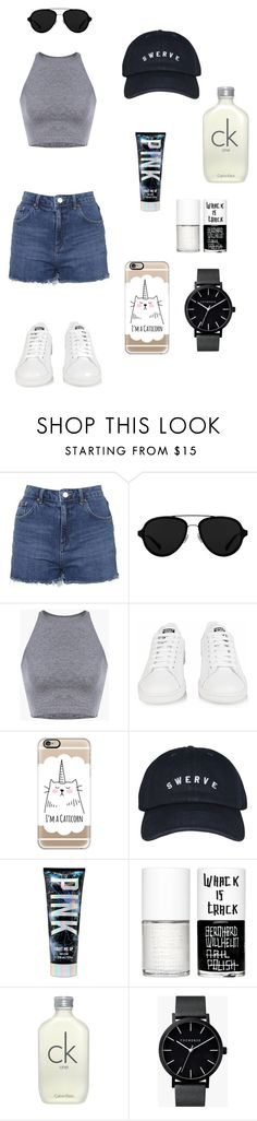 """football"" by brindusoiu-georgiana on Polyvore featuring Topshop, 3.1 Phillip Lim, adidas, Casetify, Uslu Airlines, Calvin Klein and The Horse"