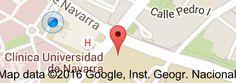Mapa de Universidad de Navarra: Cima Centro de Investigación Médica Aplicada