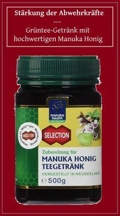 Manuka Health Teegetränk - Honig mit Grüntee:  Sehr zu empfehlen im Winter, zur Stärkung der Abwehrkräfte, bei Magen- und Verdauungsbeschwerden, Erkältungen, erhöhtem Cholesterinspiegel... HONIG mit wissenschaftlich nachgewiesener Aktivität!